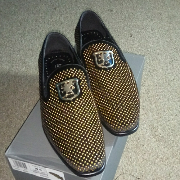 Stacy Adams Swagger Blackgold Shoes